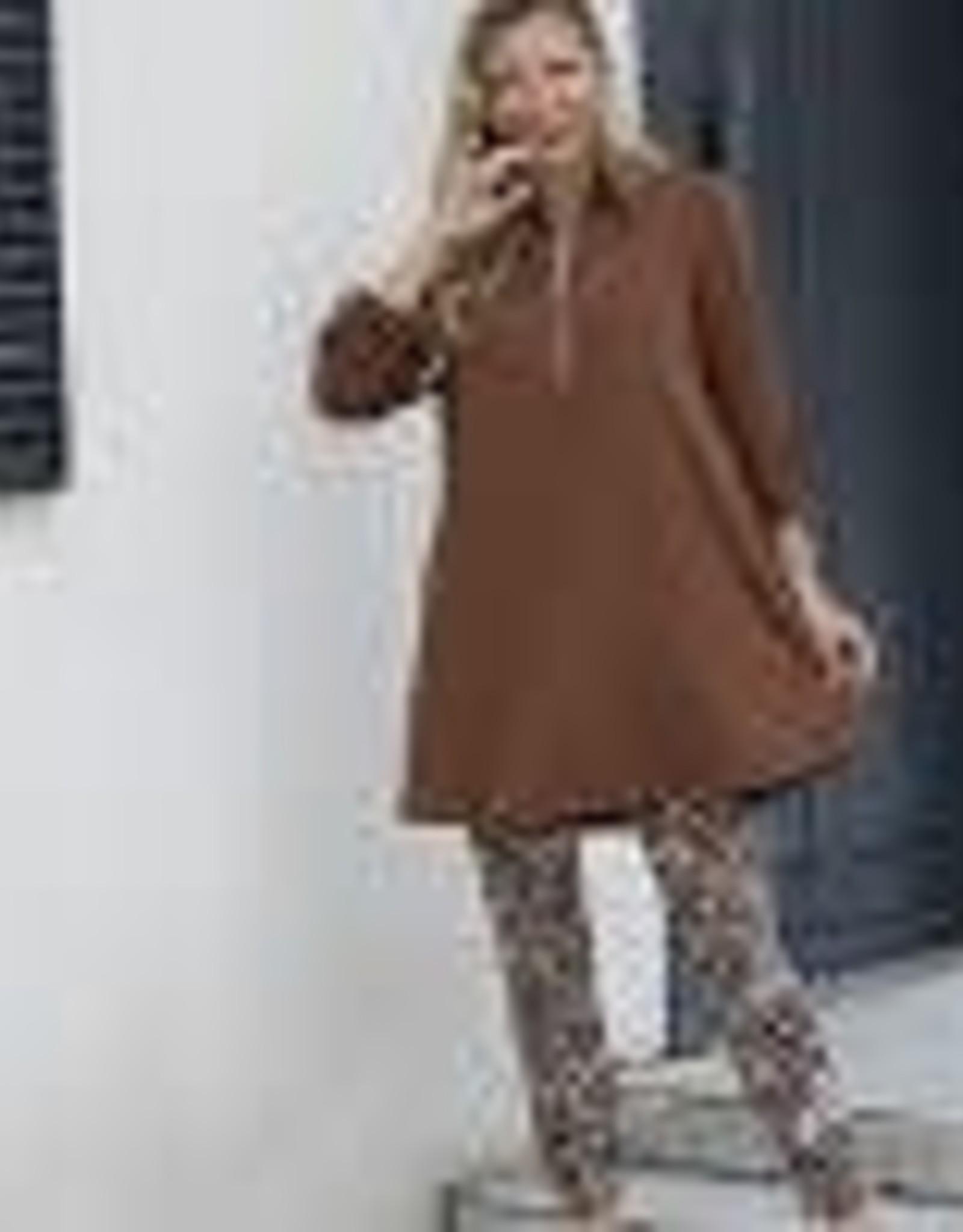 Orange Fashion Village Bamboo Baby French Terry Tunic