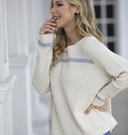 Orange Fashion Village Knitted Sweater