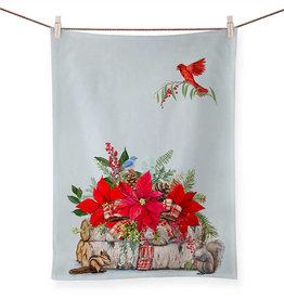 Greenbox Art Holiday - Cozy Christmas Tea Towel