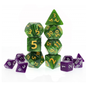 Goblin Dice Giant Green Pearl Dice Set