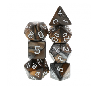 Goblin Dice Gold and Silver Dice Set