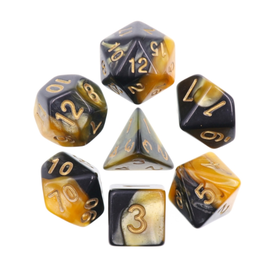 Goblin Dice Honeybee Pearl Dice Set