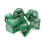 Goblin Dice Green Pearl Dice Set