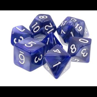 Goblin Dice Blue Pearl Dice Set