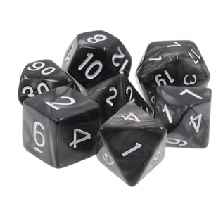 Goblin Dice Black Pearl Dice Set