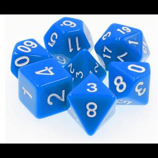 Goblin Dice Blue Opaque Dice Set