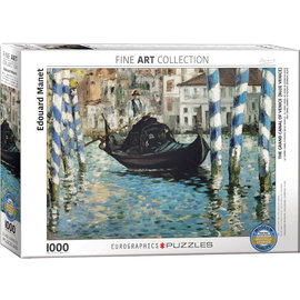 Grand Canal of Venice (Blue Venice) - Manet