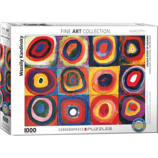 Eurographics Color Study of Squares - Kandinsky