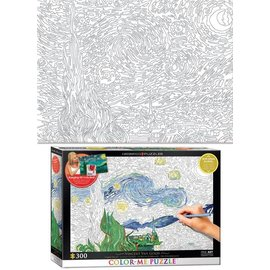 Eurographics Color Me - Starry Night - Van Gogh