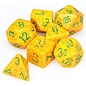 Lotus Speckled Dice Set