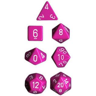 Light Purple Opaque Dice Set