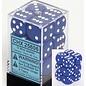 Blue Opaque 16mm D6 Block
