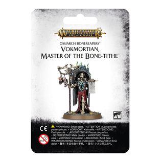 Ossiarch Bonereapers Vokmortian, Master of the Bone Tithe