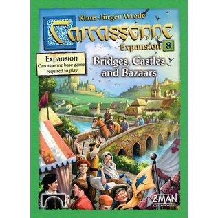 Carcassonne Exp 8: Bridges Castles Bazaars