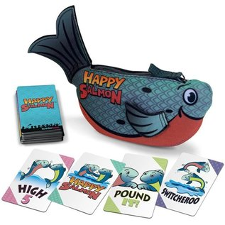 Happy Salmon (Blue)