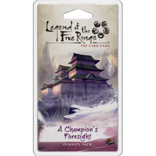 Fantasy Flight Games Legend of the Five Rings: A Champion's Foresight