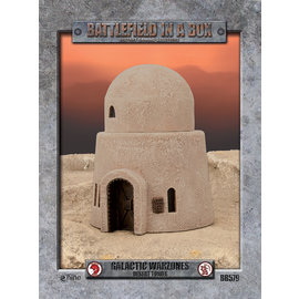 Galactic Warzones Desert Tower