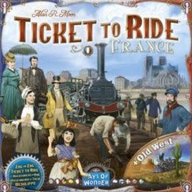 Days of Wonder Ticket to Ride: France/Old West Map Collection 6