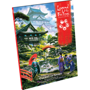 Fantasy Flight Games Legend of the Five Rings: RPG: Courts of Stone