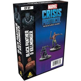 Atomic Mass Games Marvel Crisis Protocol Black Panther and Killmonger