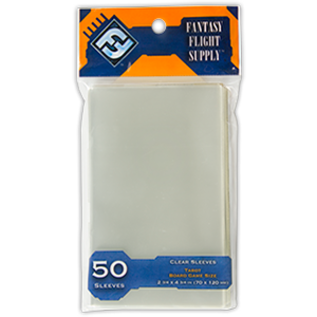 Fantasy Flight Games FFG Tarot Sleeves (50) Orange