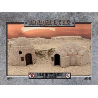 Galactic Warzone Desert Buildings