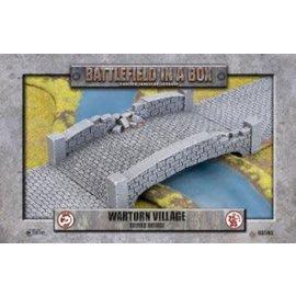 Wartorn Village Ruined Bridge