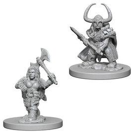 Dwarf Female Barbarian