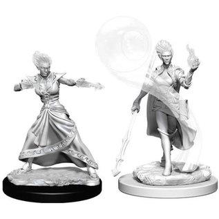 Fire Genasi Female Wizard
