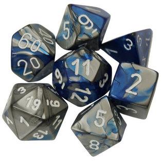 Blue & Steel Gemini Dice Set