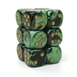 Black & Green Gemini 16mm D6 Block (12)