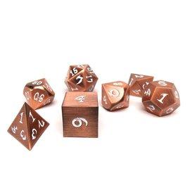 Easy Roller Dice Ancient Copper Metal Dice