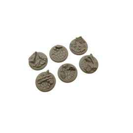 Troglodyte Base 40mm (2) (Unpainted)