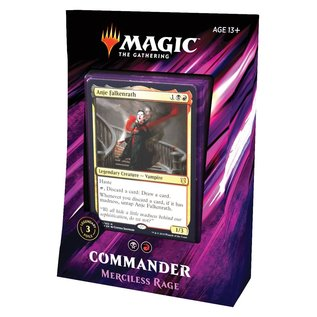 Commander 2019 Merciless Rage
