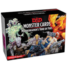 Gale Force Nine D&D Monster Cards Mordenkainen's Tome of Foes