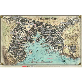 D&D Game Map: Baldur's Gate