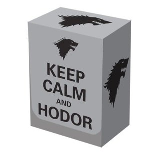 Legion Keep Calm and Hodor Deck Box