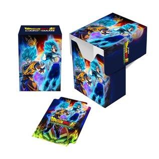 Dragon Ball Super Goku, Vegeta, Broly Deck Box