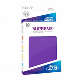 Ultimate Guard Supreme UX Purple Sleeves 60ct (Small)