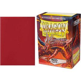 Arcane Tinmen Dragon Shield 100ct Matte Red