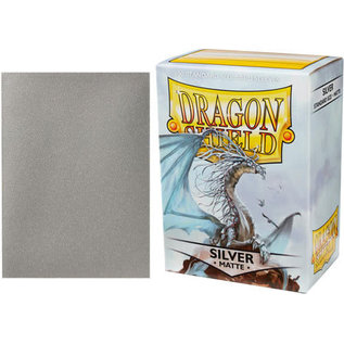 Arcane Tinmen Dragon Shield 100ct Matte Silver