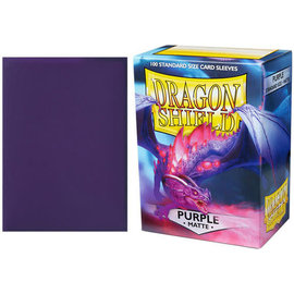 Arcane Tinmen Dragon Shield 100ct Matte Purple