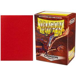 Arcane Tinmen Dragon Shield 100ct Matte Crimson