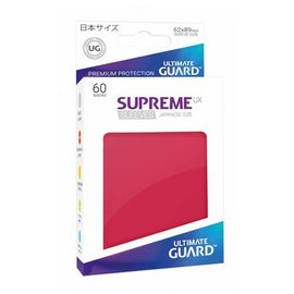 Ultimate Guard Supreme UX Red Sleeves 60ct (Small)