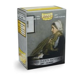 Arcane Tinmen Dragon Shields: (100) Art Sleeves Classic Whistler's Mother