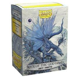 Arcane Tinmen Matte Art Dragon Shield - God Hand