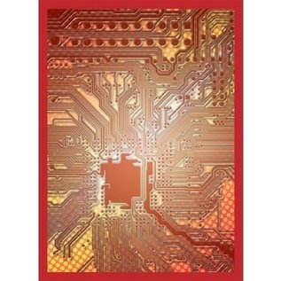 Legion LEGION CIRCUIT RED ART SLEEVES 50CT