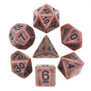 Goblin Dice Ancient Copper Dice Set