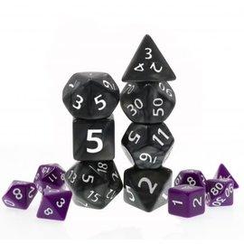 Goblin Dice Giant Black Pearl Dice Set