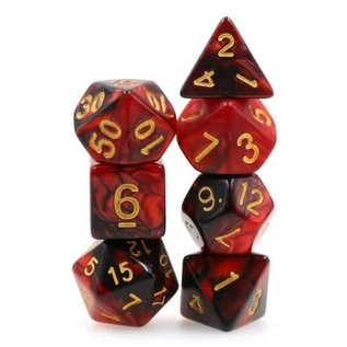 Goblin Dice Bloodstone Dice Set
